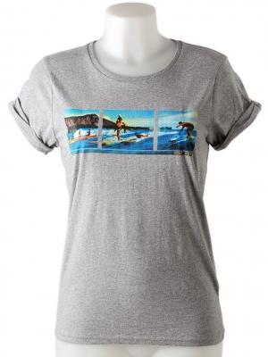 Tee-shirt vintage avec une image d´Hendaye